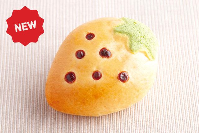 粒粒いちごジャムパン 120円 【小麦・乳・卵】