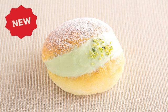 <イタリア>マリトッツォ(ピスタチオ) 260円(税込280円)【小麦・乳・卵】